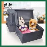 Polyester Foldable Storage Box for Apparel, Book, Toy