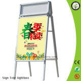Aluminum Poster Stand Snap Poster Frame Display Stand