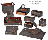 Hotel Bathroom Accessory Set Guest Room Durable Leather Items