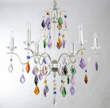 Modern Colorful Attractive Chrome Crystal Chandelier