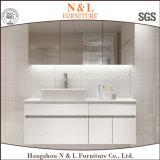 N&L Solid Wood Oak Wooden Bathroom Vanity