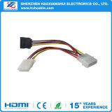 4pin SATA to 4pin+15pin Data SATA Cable for Laptop