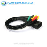 3pin to 6kts-Clip OBD Connector for FIAT Dignostic Tool