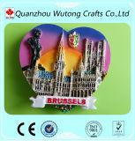 Wholesale Home Decoration 3D Custom Resin Souvenir Fridge Magnet
