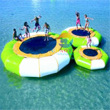 Commercial Use Water Bouncer Inflatable Trampoline for Water Game