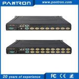 over IP 15 inch 8 port VGA LED KVM switches