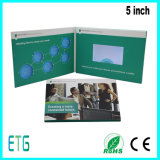 7 Inch HD/IPS Screen Video LCD Advertising Greeting Brochure