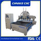 Ck1325 6 Heads 4.5kw Aliuminium Wood MDF Cutting CNC Machine