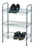 Wholesale Price Metal Chrome Slanted Shoe Rack (CJ-B1111)