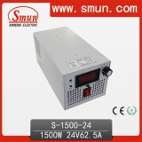 24VDC62A 1500W DC Output Switching Power Supply with CE RoHS