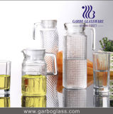 0.5L Glass Pitcher with Cover (GB1102BF-1)