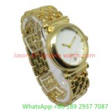 Hot Fashion Alloy Quartz Watch with Alloy Band for Woman (Ja-15096)