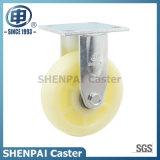 "6"" White PP Rigid Industrial Caster Wheel"