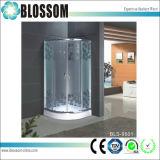 High Quality Acid Glass Simple Shower Room Shower Enclosure (BLS-9501)