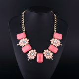 Big Acryl Fashion Bohemia Style Necklace Set