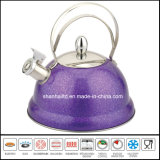 Color Coating Stainless Steel Whistle Kettle