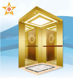 Gold Mirror Passenger Elevator/Lift of China