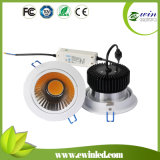 20W Dimmable COB LED Downlight with CE and RoHS Certification