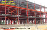 Red Steel Structure for Warehouse and Factory