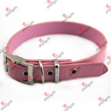 Fashion Pink PU Leather Dog Collar for Pet Jewelry (PC15121401)