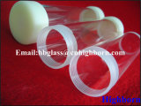 Heat Resistance Screw Thread Fused Silica Glass Pipe