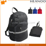 Foldable Wateproof Sporting Lightweight Hiking Travel Backpack with Reflective Strip