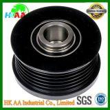 Customized CNC Black Oxide Stainless Steel Alternator Decoupler Pulley