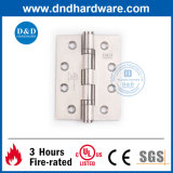 4X3X3 UL Listed 2bb Butt Hinge Ss304 for Fire Door & Metal Door