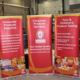 Portable Display Aluminium Roll up Banner Stand