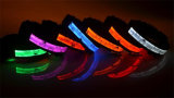 Newest Quality Pet Collor LED Flashing Dog Collar for Christmas
