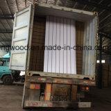Titanium White Melamine MDF with Slot