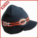 Unisex Promotion Winter Knitted Hat with Visor