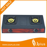 Cold Rolled Sheet Table Top Two Burner Gas Stove Jp-Gc203t