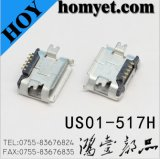 Micro USB Connector with SMD Type (US01-517H)