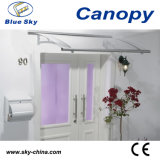 Aluminum Door Canopy with Polycarbonate Roof (B900)