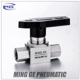 Hydraulic High Pressure Ball Valve with NPT and G Thread (MG-B-NPT1/4, MG-B-G1/4)