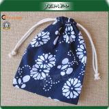 Small Custom Printed Cotton Drawstring Bags