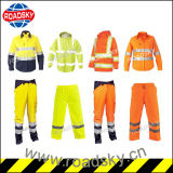 Orange High Visibility Long Sleeve Nomex Reflective Safety Clothes