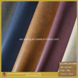 Top Sale Printing Shoe PU Leather (S007)