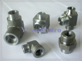 Weld Hydraulic Fittings OEM Customized Steel Forged Fittings Adapter