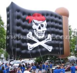 Giant Inflatable Flag Flying Balloon, Inflatable Parade Theme Helium Ballloon K7177