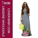 Fashion 2016 Boho Beach Party Girl′s Long Dress (L51327)