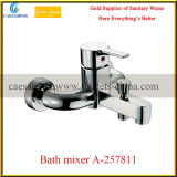 Bathroom Wall Mounted Chrome Bathtub Mixer