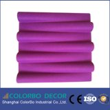 Home Interior Decoration Polyester Acoustic Wall Panel 3D