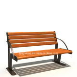 Park Bench, Picnic Table, Cast Iron Feet Wooden Bench, Park Furniture FT-Pb020