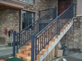 Bronze Color Aluminium Glass Fencing Balcony for Your Home