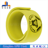 Waterproof 13.56MHz Custom Smart RFID Silicone Bracelet for Amusement Park Tickets