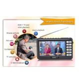 4.3inch ISDB-T Full Seg Mobile Mini Portable TV, Support All Band FM, External Antenna, Microphone and SD Card, Enjoy Live TV Anytime Anywhere