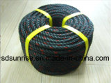 Green Gray PE Rope Made From Recycled Material