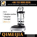 Multi-Functional Vibration Machine with Massager and Sit-up Bar